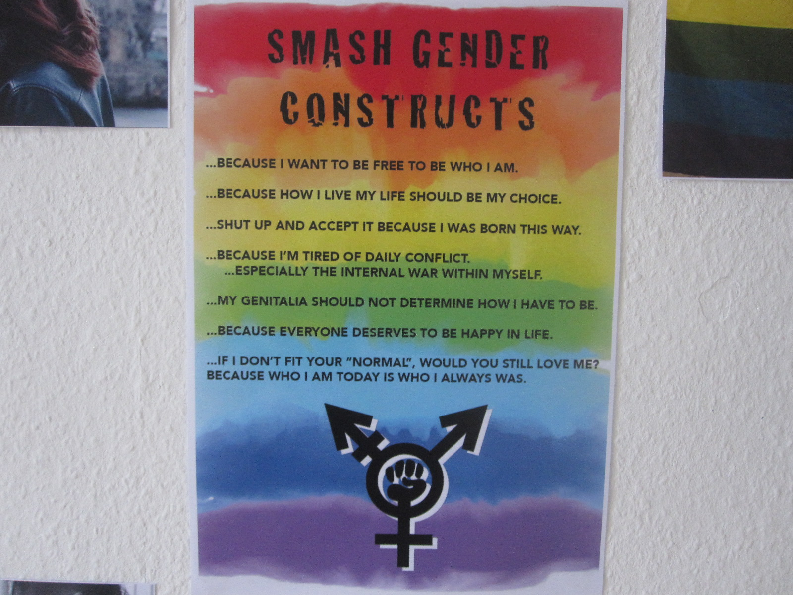 SMASH GENDER CONSTRUCTS